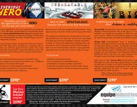 #26 cho Flyer Design for Equipe Industries bởi pantoneeye