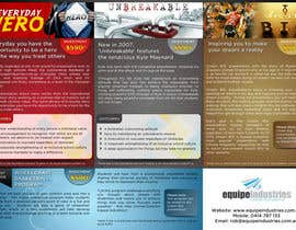 #13 cho Flyer Design for Equipe Industries bởi su1d