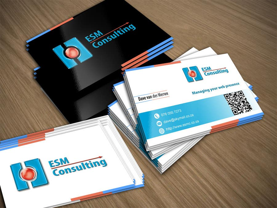 Bài tham dự cuộc thi #                                        25                                      cho                                         Design Business Cards for ESM Consulting