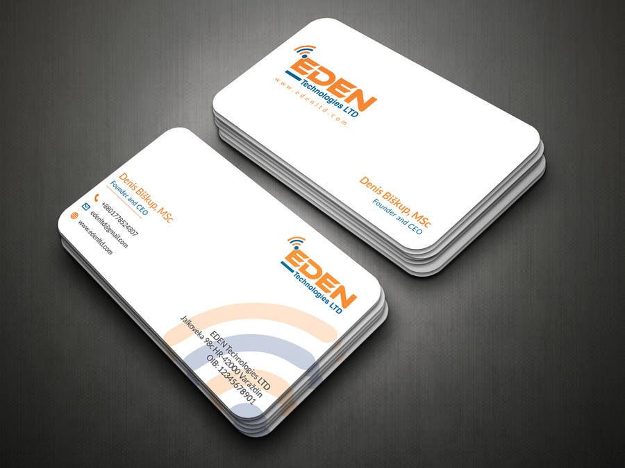 Entry #35 by DreamsPixel for Business Card and ID Card
