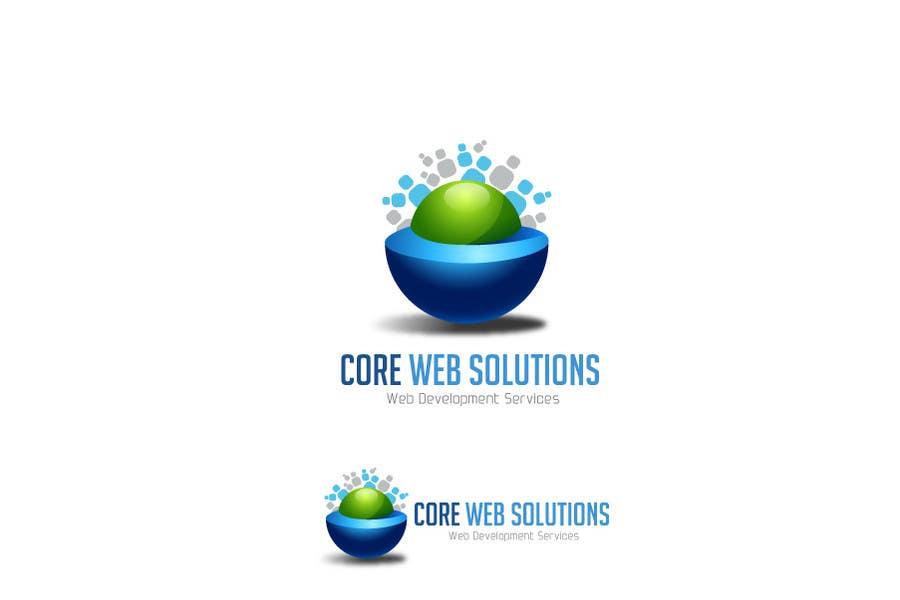 Kilpailutyö #171 kilpailussa Logo Design for Core Web Solutions