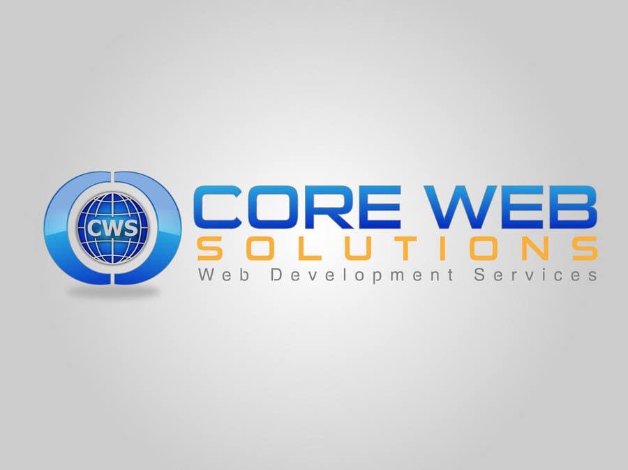 Penyertaan Peraduan #235 untuk Logo Design for Core Web Solutions