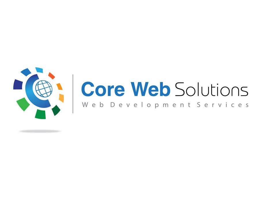 Penyertaan Peraduan #244 untuk Logo Design for Core Web Solutions