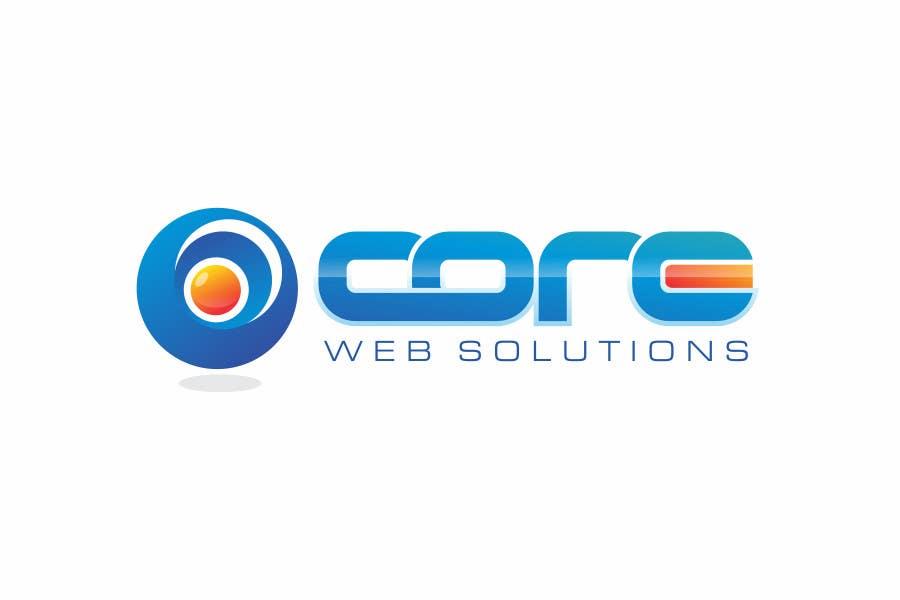 Penyertaan Peraduan #179 untuk Logo Design for Core Web Solutions