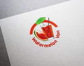 nº 108 pour Logo design for Juice Bar - Watermelon Van par rajibdebnath900