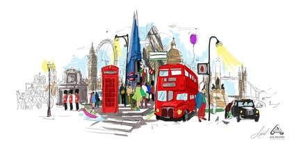 Image of                             London Meets Manila Illustration