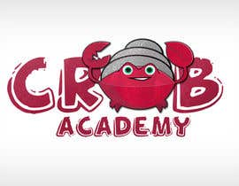 #35 for New Crab Academy Logo for Hermit Crabs by AliBenabbes