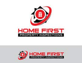 #164 untuk Logo Design for Home First Property Inspections oleh foxxed