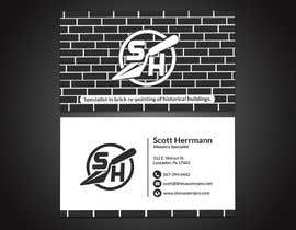 #27 for Masonry contractor Business Card and logo by papri802030