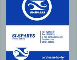 #170 para Business Card Design for SI - Spares de georgetimothy
