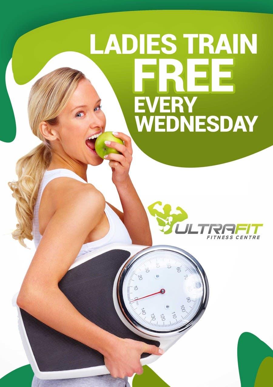 Inscrição nº                                         21                                      do Concurso para                                         Design a Flyer for Ultrafit ladies train for free
