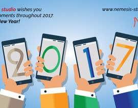 nº 6 pour Creating a corporate 2017 greeting card for digital agency par vanv4n