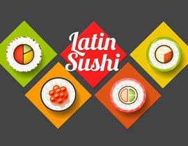 #62 para Diseñar un logotipo Local de Sushi de IngAdolfoGarcia