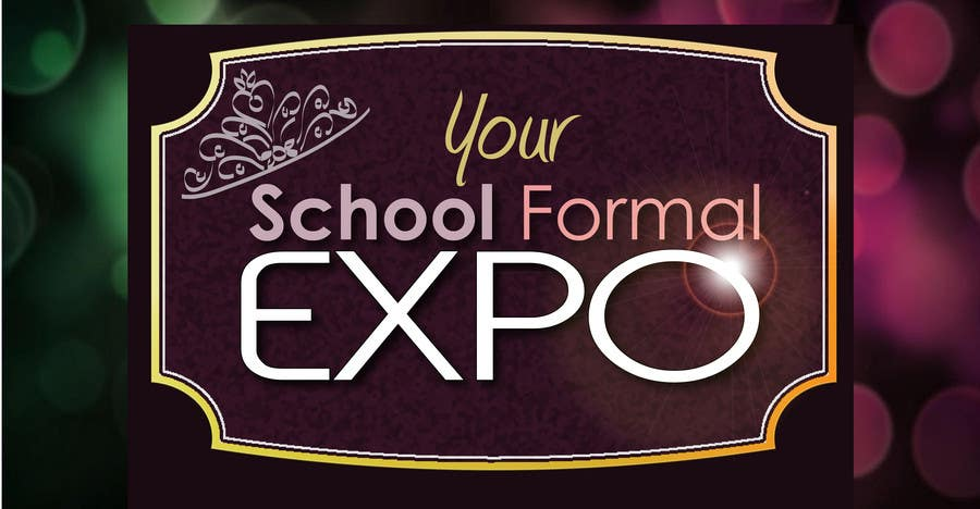 Proposition n°                                        84                                      du concours                                         Logo Design for Your School Formal Expo