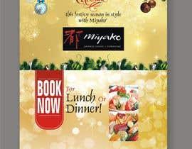 """nº 17 pour Design a 30"""" by 40"""" portrait poster in photoshop for restaurant christmas booking par dekaszhilarious"""