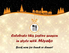 "nº 18 pour Design a 30"" by 40"" portrait poster in photoshop for restaurant christmas booking par mahaayash"