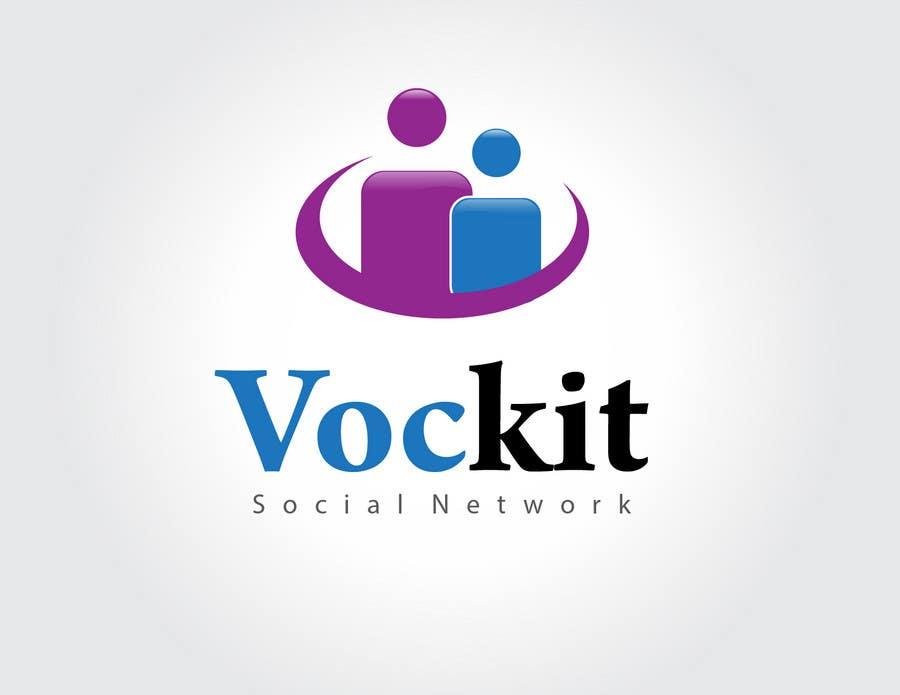 Penyertaan Peraduan #83 untuk WANTED:  Creative & Modern LOGO design for new social network
