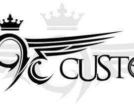 #127 для Logo Design for 393 CUSTOMS от Glukowze