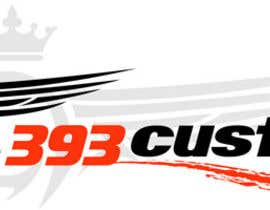 #130 for Logo Design for 393 CUSTOMS af Glukowze