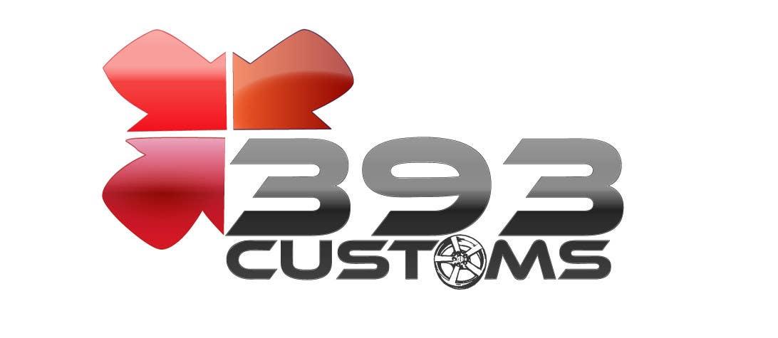 Kilpailutyö #134 kilpailussa Logo Design for 393 CUSTOMS