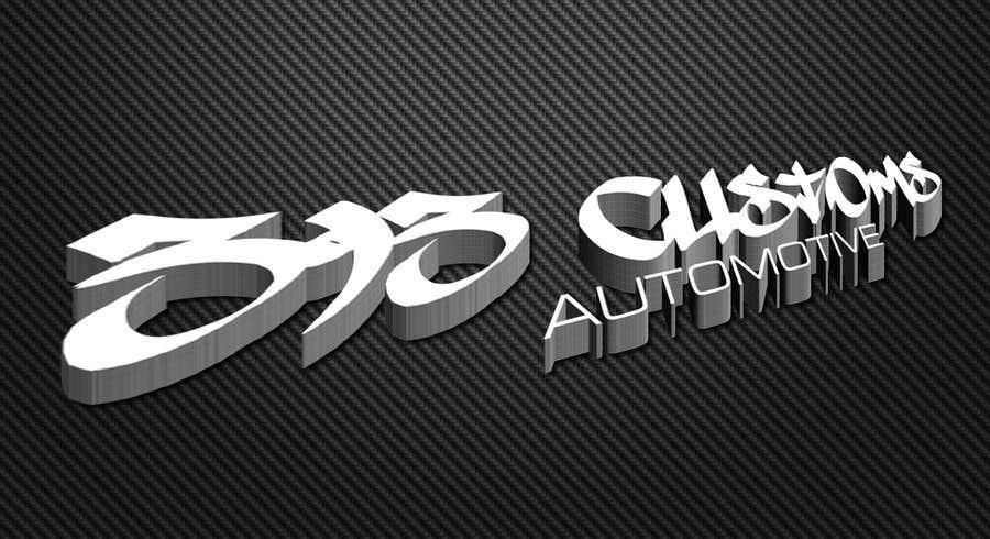 Kilpailutyö #172 kilpailussa Logo Design for 393 CUSTOMS