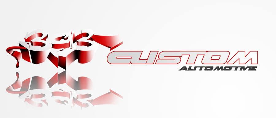 Kilpailutyö #76 kilpailussa Logo Design for 393 CUSTOMS