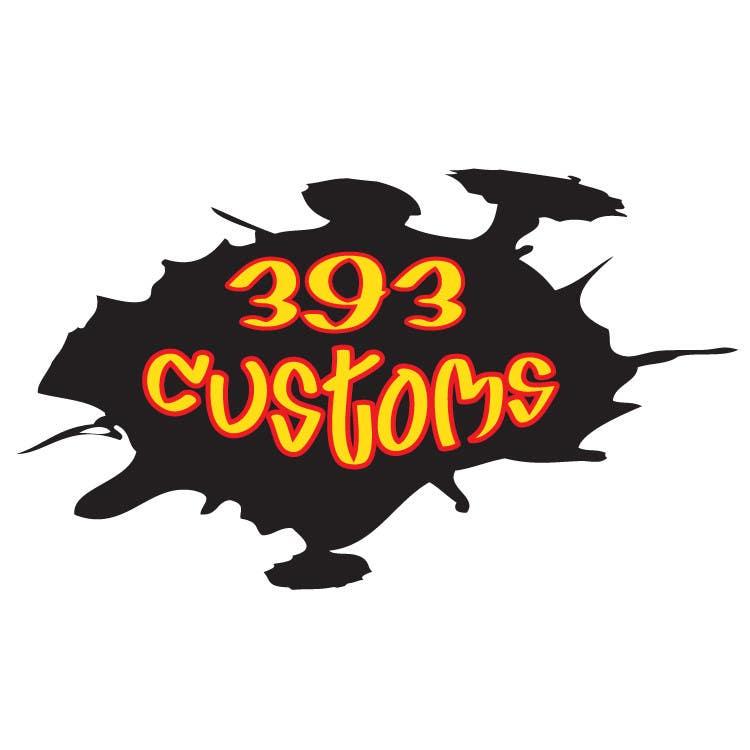 Kilpailutyö #147 kilpailussa Logo Design for 393 CUSTOMS