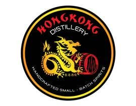 #51 for Design a sticker for our Hong Kong Distillery logo by shamim111sl