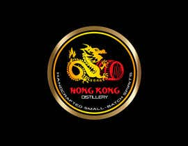 #56 for Design a sticker for our Hong Kong Distillery logo by chanmack