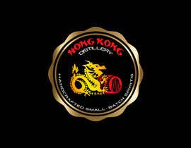 #60 for Design a sticker for our Hong Kong Distillery logo by chanmack