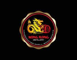 #62 for Design a sticker for our Hong Kong Distillery logo by chanmack