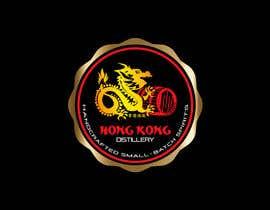 #62 για Design a sticker for our Hong Kong Distillery logo από chanmack