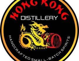 #26 cho Design a sticker for our Hong Kong Distillery logo bởi designart65