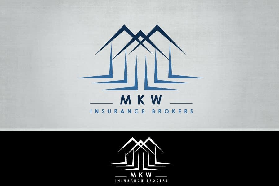 Konkurrenceindlæg #425 for Logo Design for MKW Insurance Brokers  (replacing www.wiblininsurancebrokers.com.au)