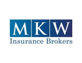Grupof5님에 의한 Logo Design for MKW Insurance Brokers  (replacing www.wiblininsurancebrokers.com.au)을(를) 위한 #76