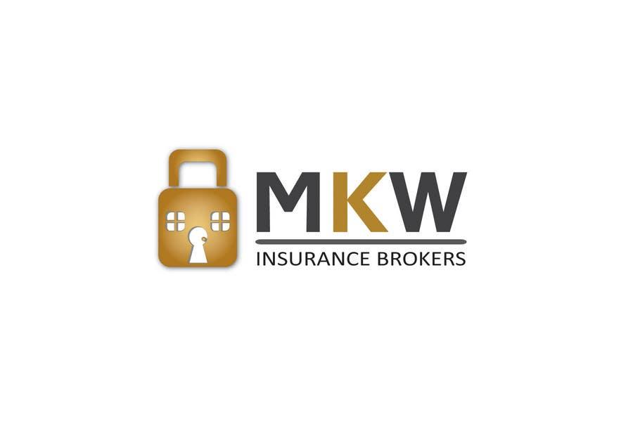 Konkurrenceindlæg #186 for Logo Design for MKW Insurance Brokers  (replacing www.wiblininsurancebrokers.com.au)