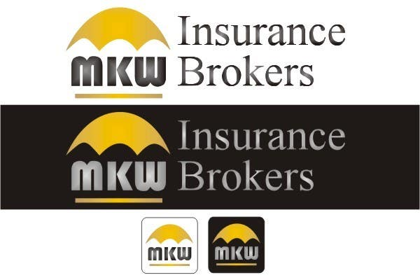 Συμμετοχή Διαγωνισμού #297 για Logo Design for MKW Insurance Brokers  (replacing www.wiblininsurancebrokers.com.au)