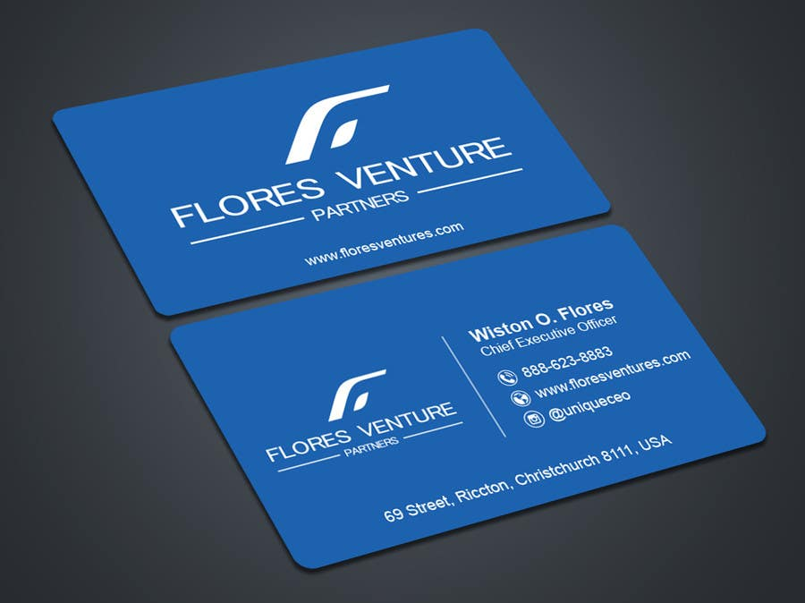 Entry #53 by thedesignar for Elegant Professional CEO Business Card ...