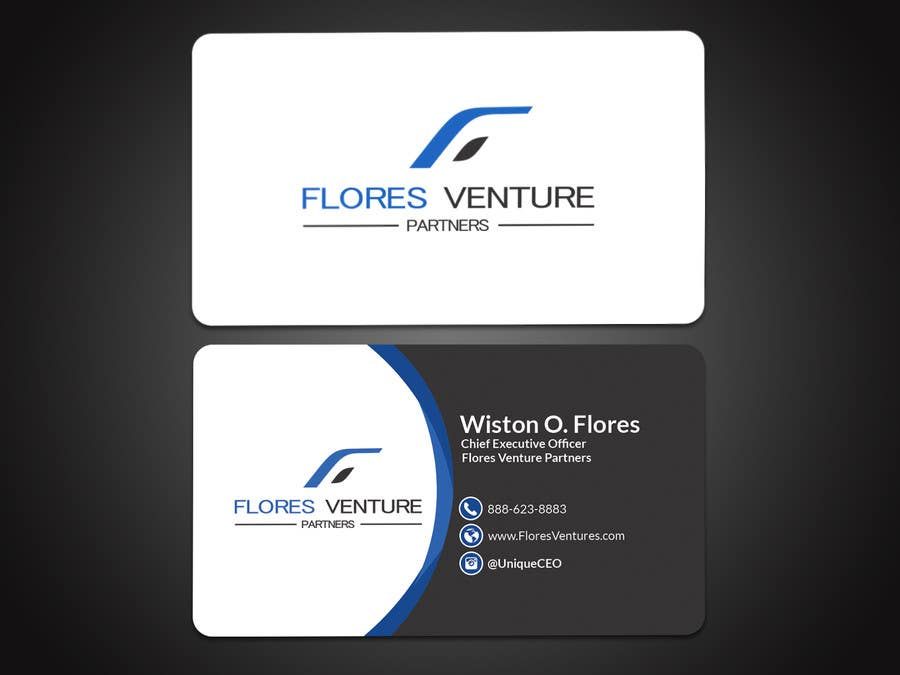 entry 15 by papri802030 for elegant professional ceo business card