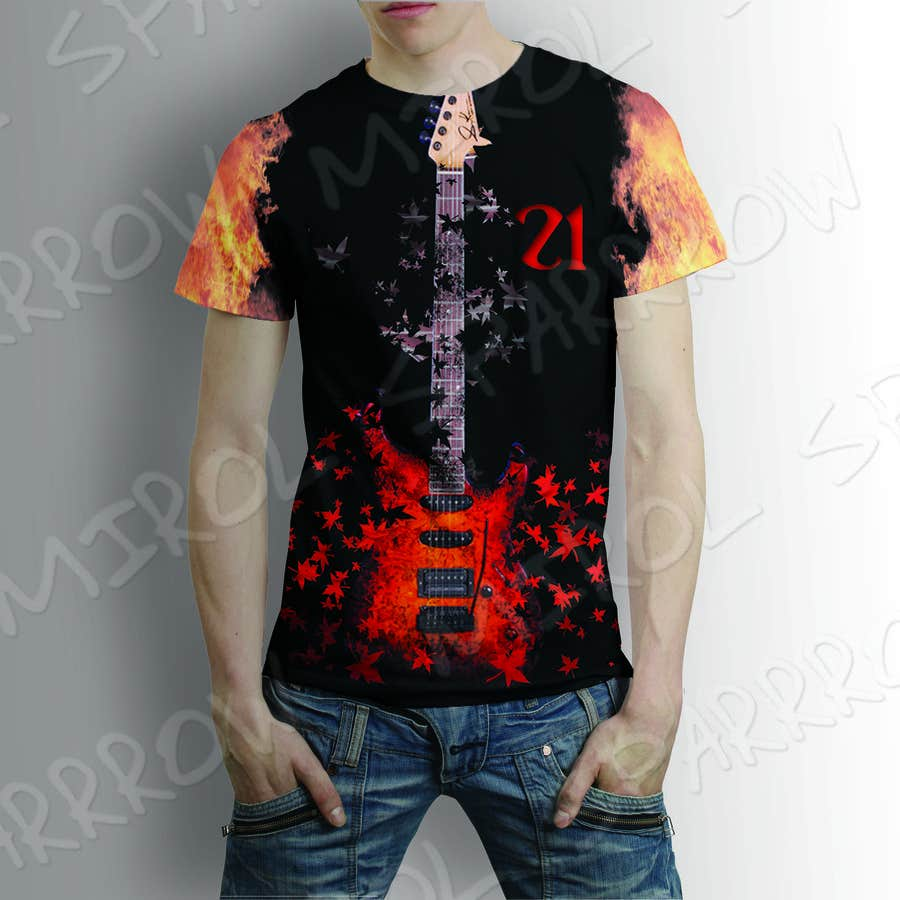 Entry #4 by amirulbadri21 for Create a SUBLIMATION DESIGN