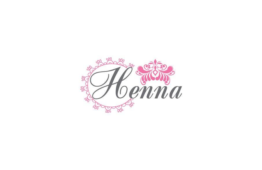 Entry 23 By Suzannasr For Design A Logo For A Henna Artist Freelancer