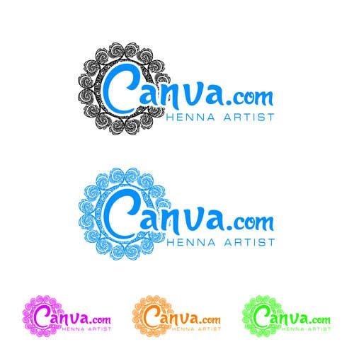 Entry 2 By Zukudesigns For Design A Logo For A Henna Artist