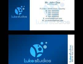 #112 untuk Business Card Design for Luke's Studio oleh bjandres