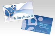 Participación Nro. 82 de concurso de Graphic Design para Business Card Design for Luke's Studio