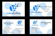 Graphic Design Contest Entry #85 for Business Card Design for Luke's Studio