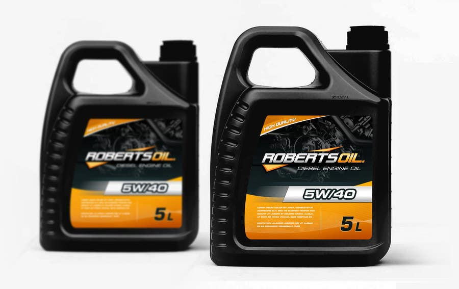 Design a logo for engine oil a label for the oil for How long does motor oil last