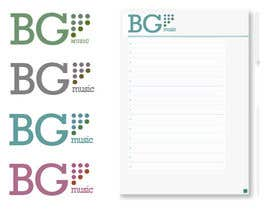 #9 cho Design a Logo for BG Music bởi TheDraw