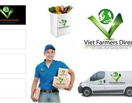 #204 para Logo Design for Viet Farmers Direct por Remon1199