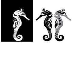 Nro 3 kilpailuun 2D Seahorse käyttäjältä DianaRojasdesign