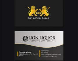 73 For Design Some Business Cards Company Lion Liquor Licensing Consultants By Airimgc